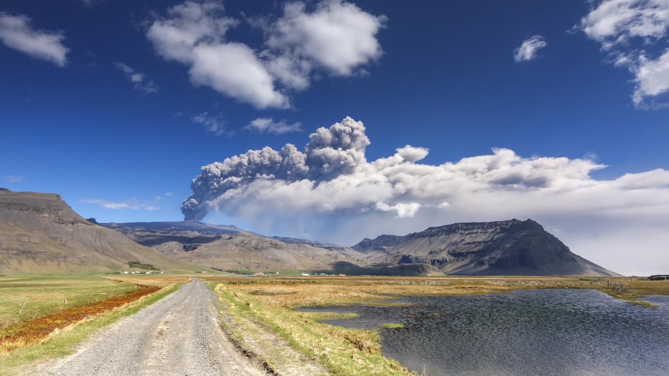 Vulkan Eyjafjallajökull