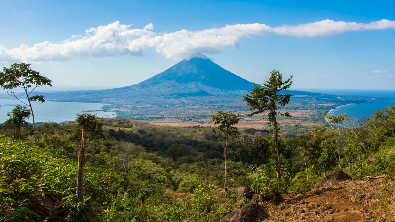 Ometepe: Eine Insel mit zwei Bergen