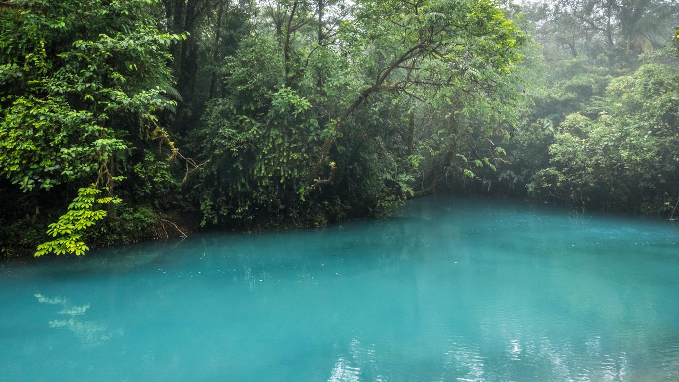 Río Celeste: Der azurblaue Fluss