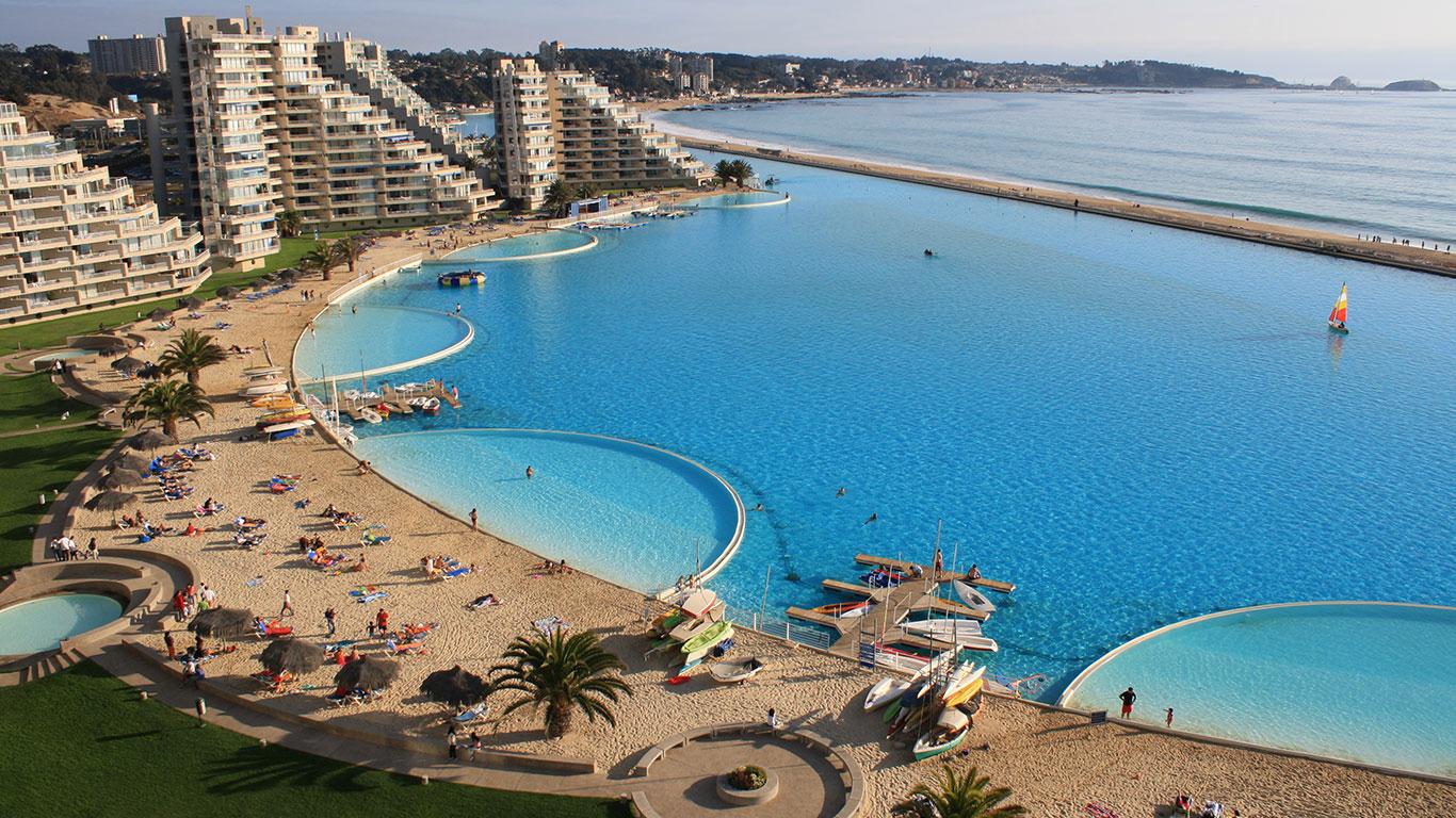 Das größte Schwimmbecken der Welt