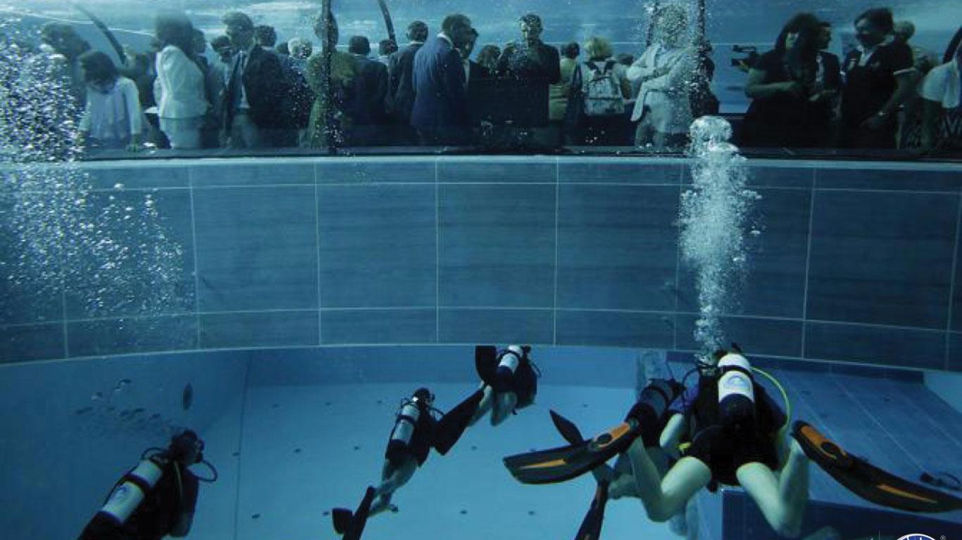 Der tiefste Pool der Welt