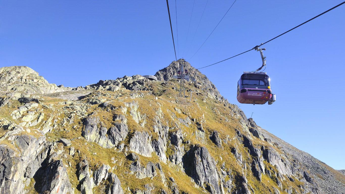 Gipfelstürmer in den Alpen
