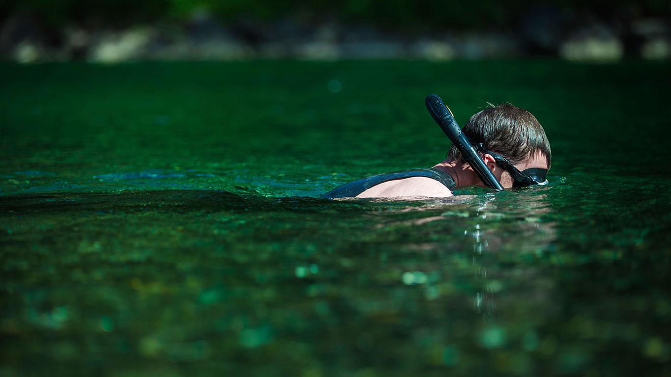 Köln: Tauchen im Fühlinger See