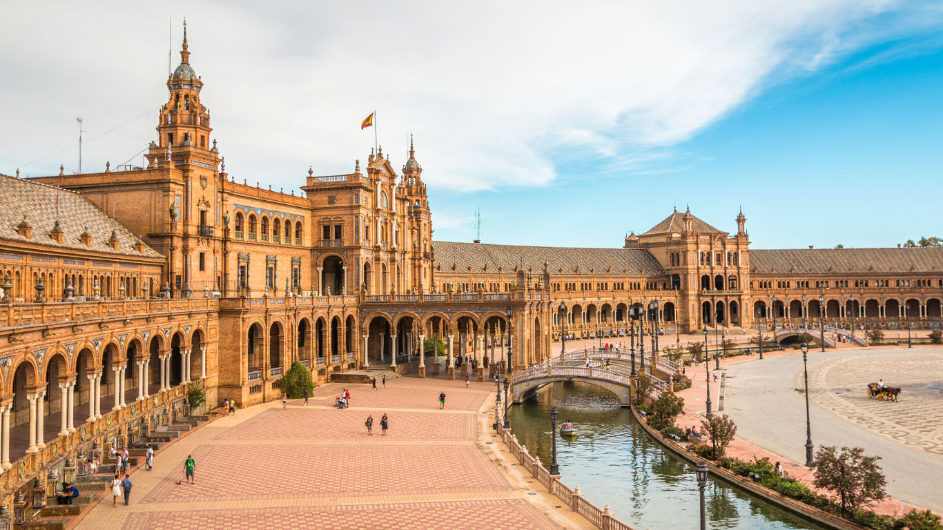Platz 10: Plaza de España, Sevilla