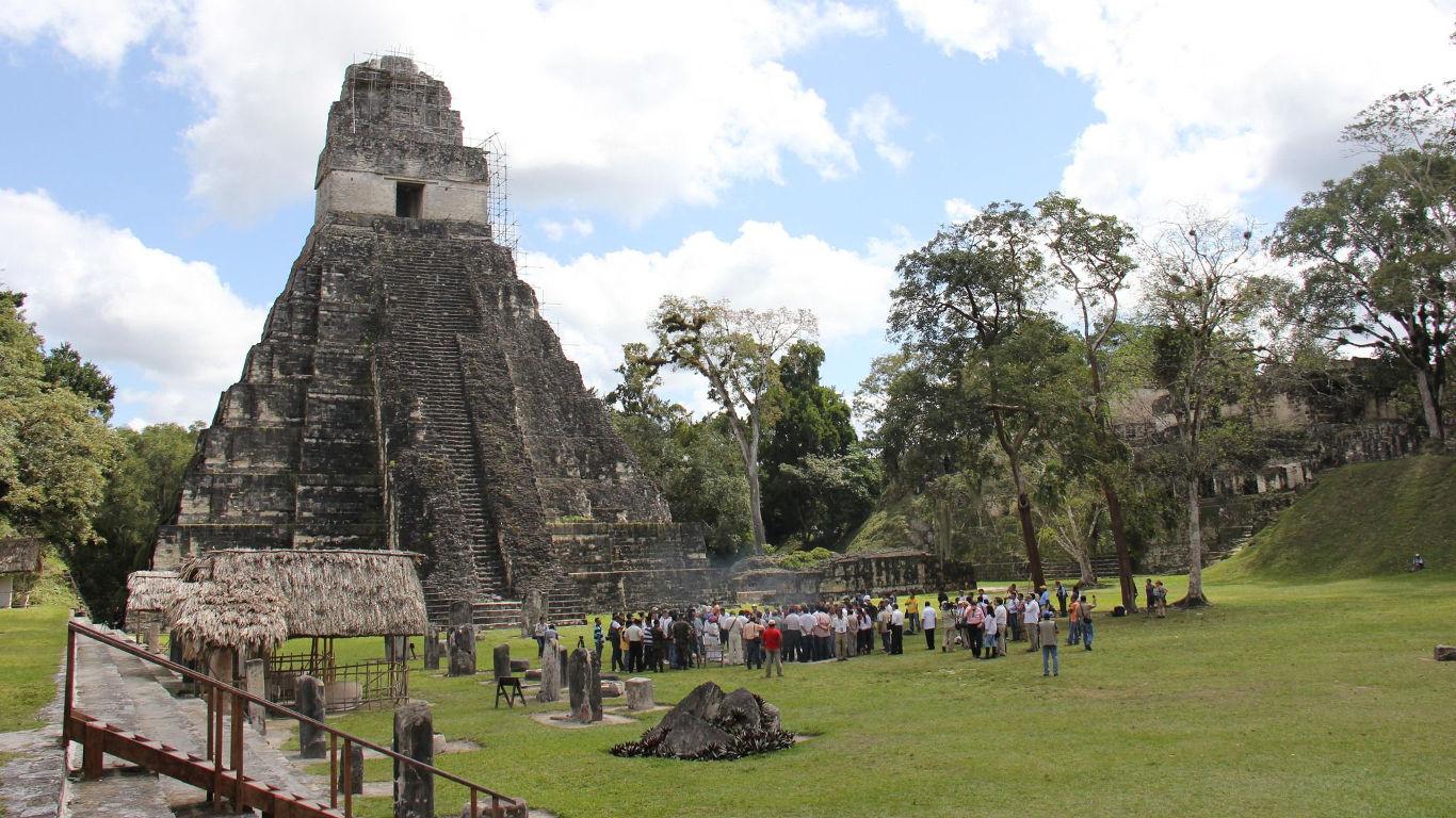 Platz 8: Tikal, Guatemala