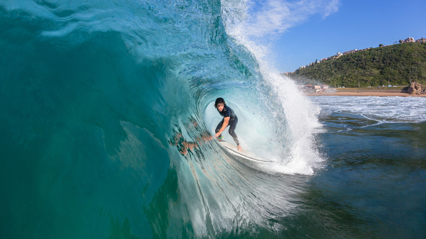Traumhafte Wellen