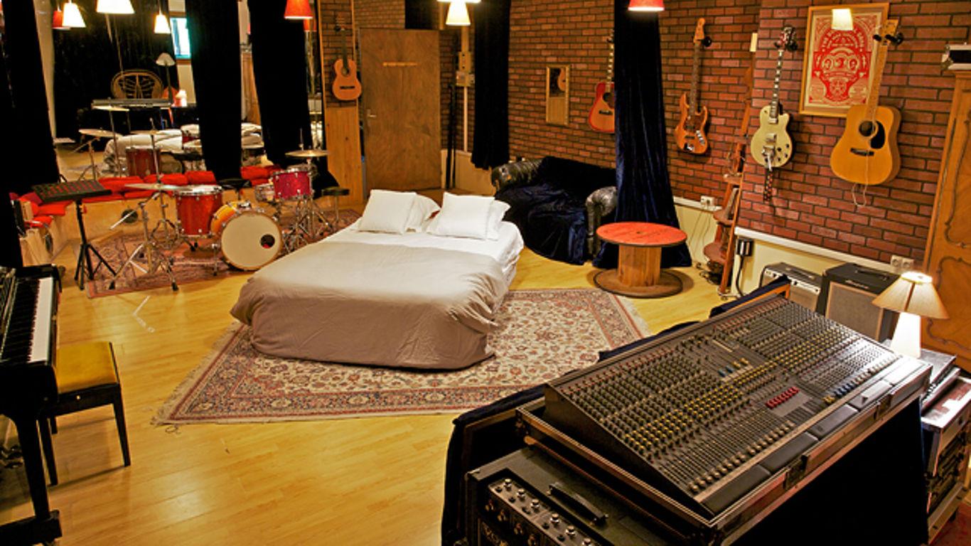 Vintage-Aufnahmestudio in Paris