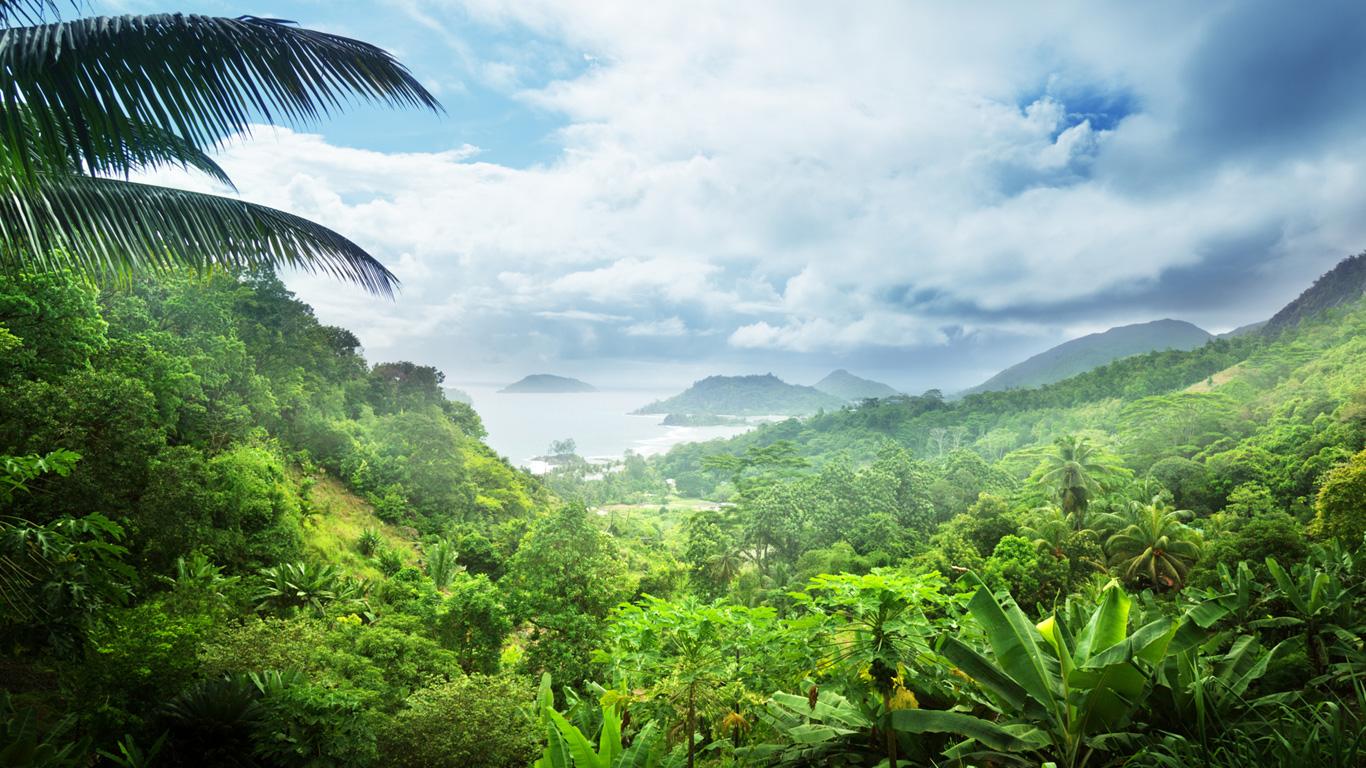 Unberührte Flora und Fauna