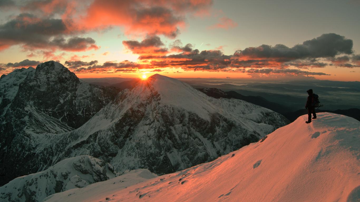 Platz 2: Freezing Sunrise