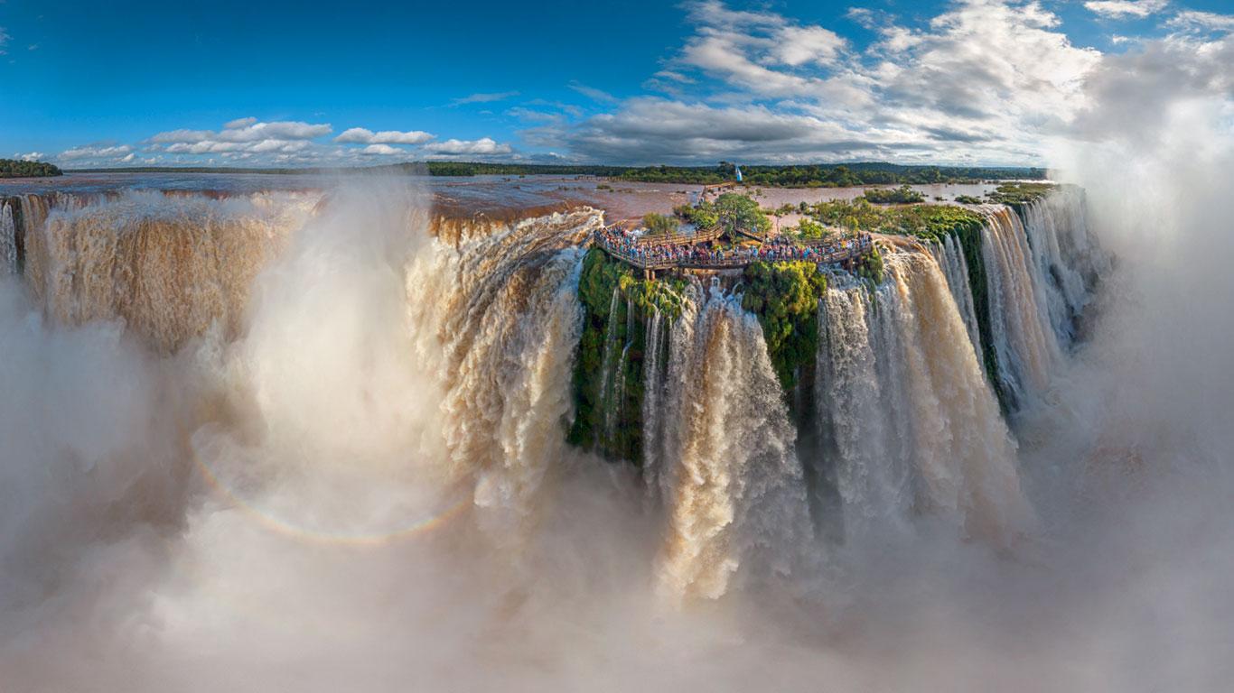 Iguazú-Wasserfälle, Brasilien / Argentinien