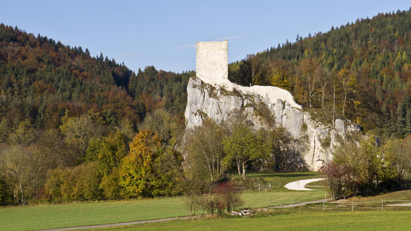Ruine Dietfurt: Die Kultstätte der Neutempler (Donautal, Baden-Württemberg)