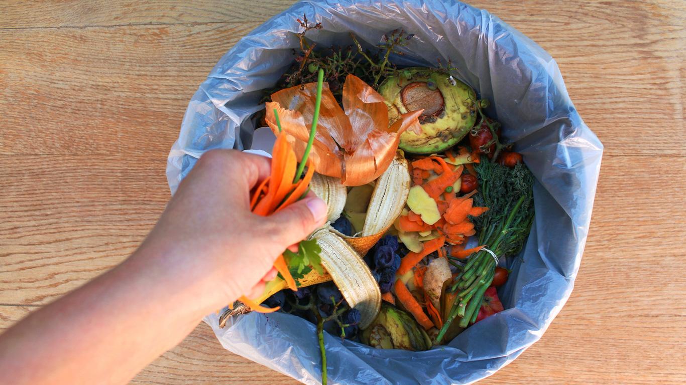 Weniger Lebensmittelverschwendung und Müll